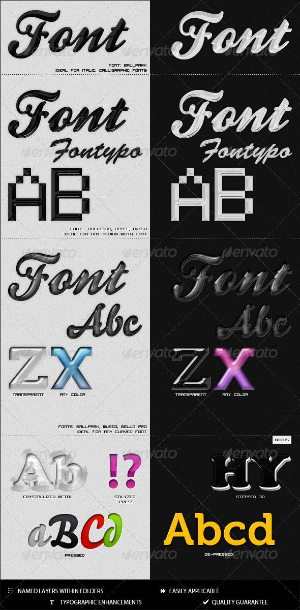 GraphicRiver 11 Elegant & Modern Styles 130914