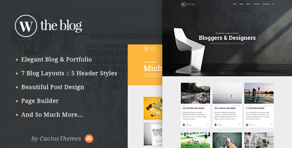 ThemeForest TheBlog Multi Concept Blog & Portfolio 10485614