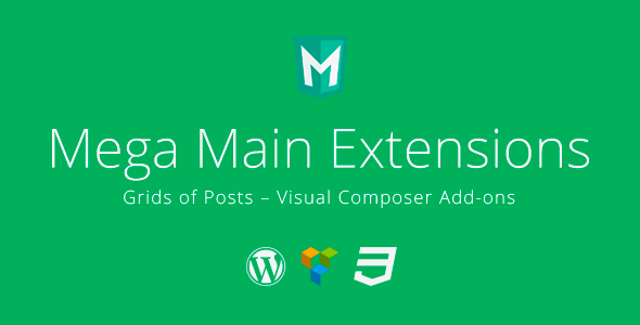 CodeCanyon Grids of Posts Visual Composer Addons 10485627