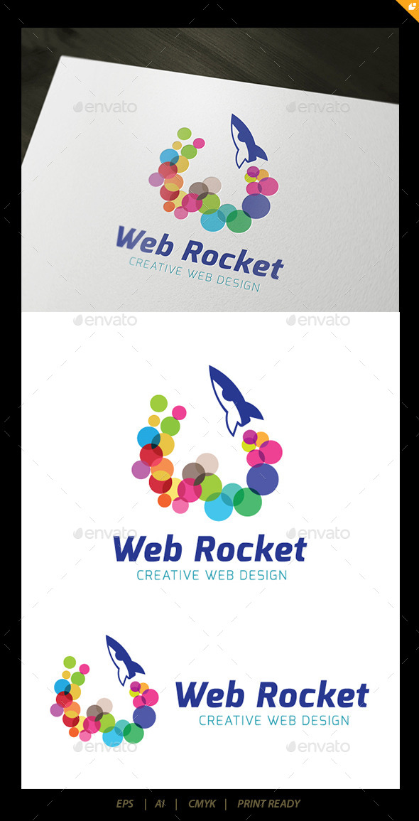 GraphicRiver Web Rocket 10485690