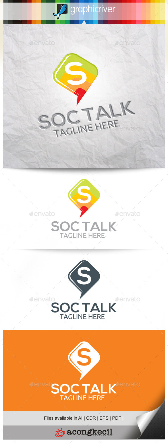 GraphicRiver Social Talk 10485713