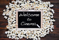 Popcorn and word welcome. - PhotoDune Item for Sale