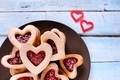 Homemade cookies for Valentine. - PhotoDune Item for Sale