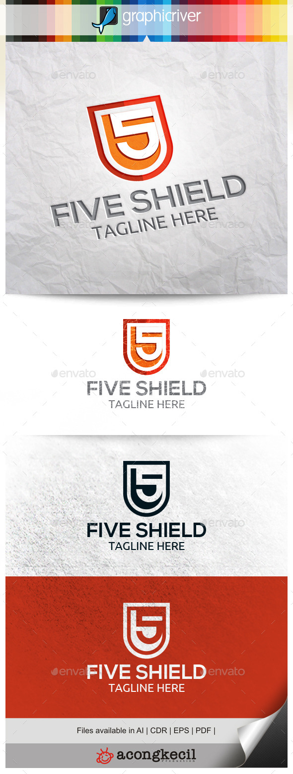 GraphicRiver Five Shield 10485790
