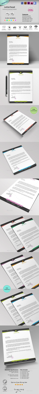 GraphicRiver Letterhead 10441015