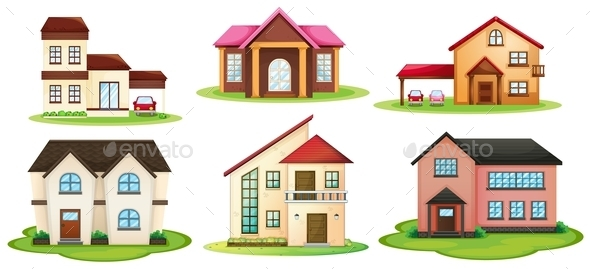 GraphicRiver Various Houses 10485819