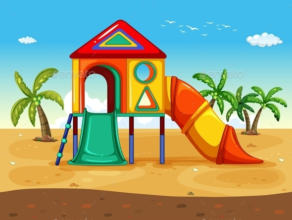 GraphicRiver Playground 10485917