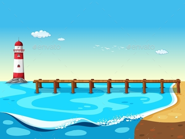 GraphicRiver A Lighthouse 10485979