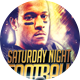 Saturday Night Football Sports Flyer - GraphicRiver Item for Sale