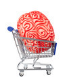 Human rubber brain in the shopping cart - PhotoDune Item for Sale