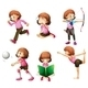 Activities of a Girl  - GraphicRiver Item for Sale