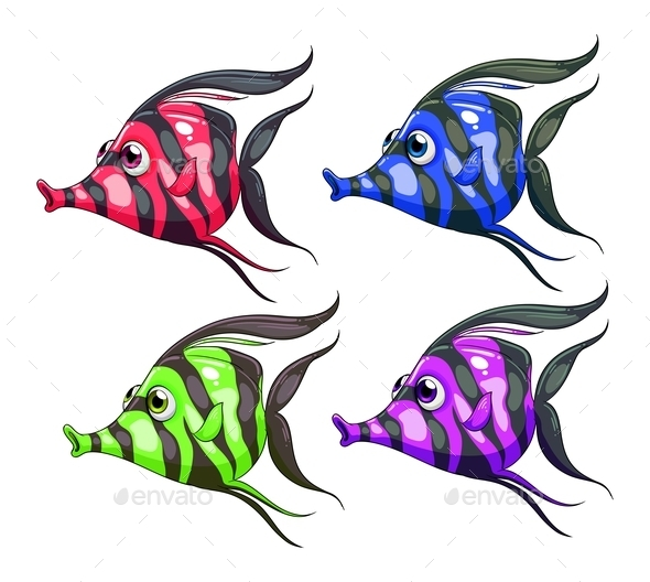 GraphicRiver Colorful Fish 10486437