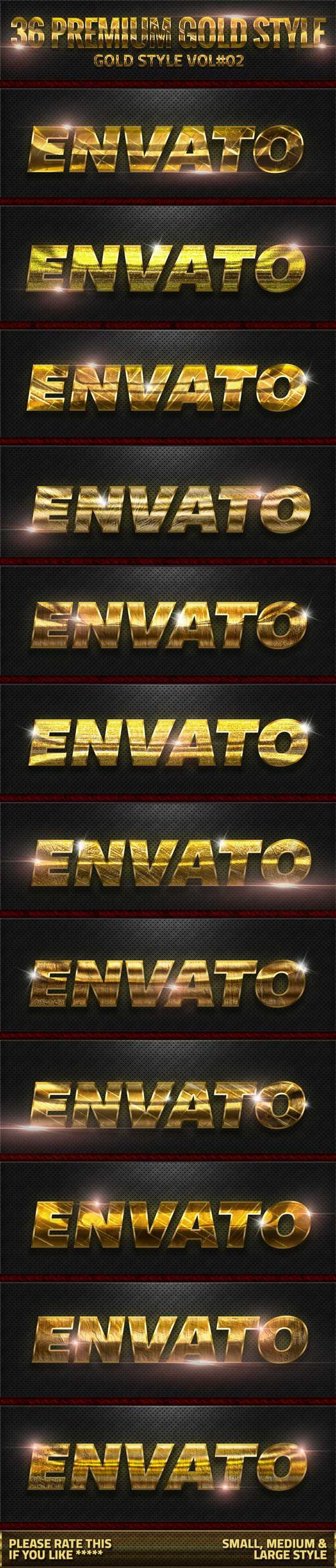 GraphicRiver 36 Gold Style V02 10486660