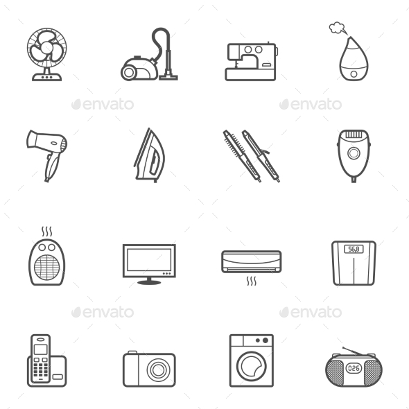 GraphicRiver Home Appliances 10486930