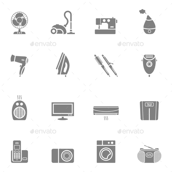 GraphicRiver Home Appliances 10486933