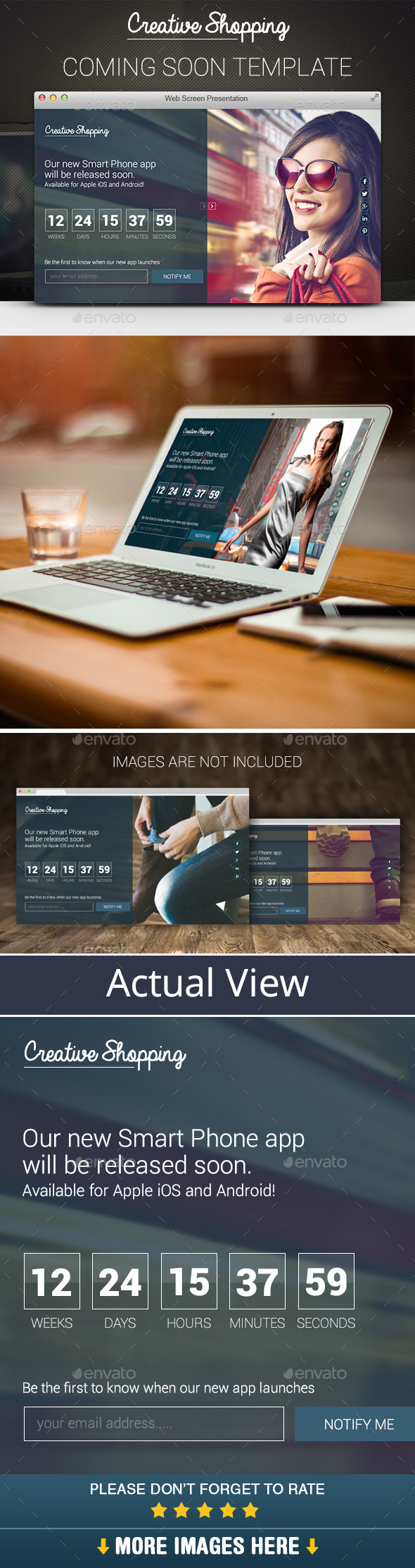 GraphicRiver Coming Soon PSD Template 10486935