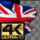 Realistic Waving United Kingdom Flag - VideoHive Item for Sale