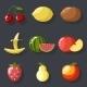 Fruit Set  - GraphicRiver Item for Sale