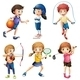 Kids Playing Sport