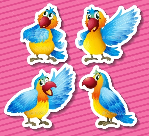 GraphicRiver Parrot 10487143