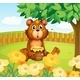 Bear with Honey  - GraphicRiver Item for Sale