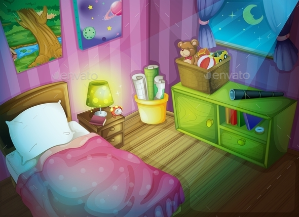 GraphicRiver Bedroom 10487212