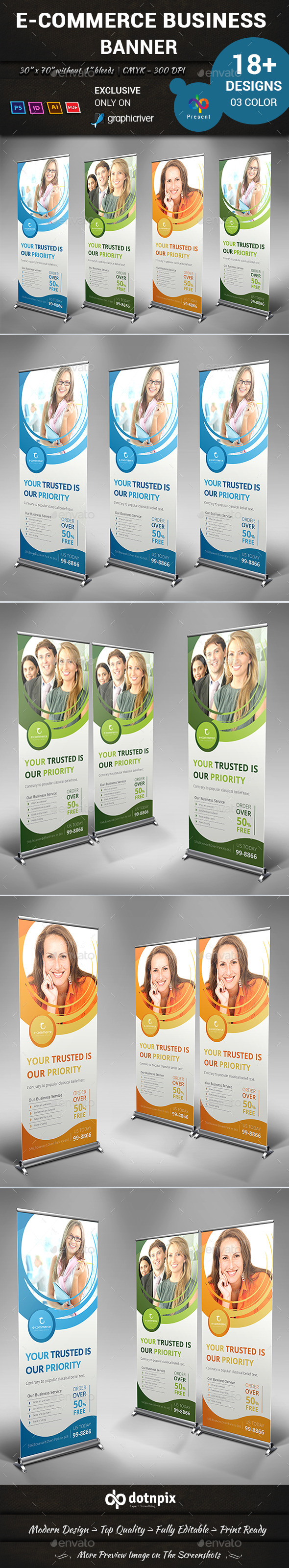 GraphicRiver E-Commerce Business Banner 10487272