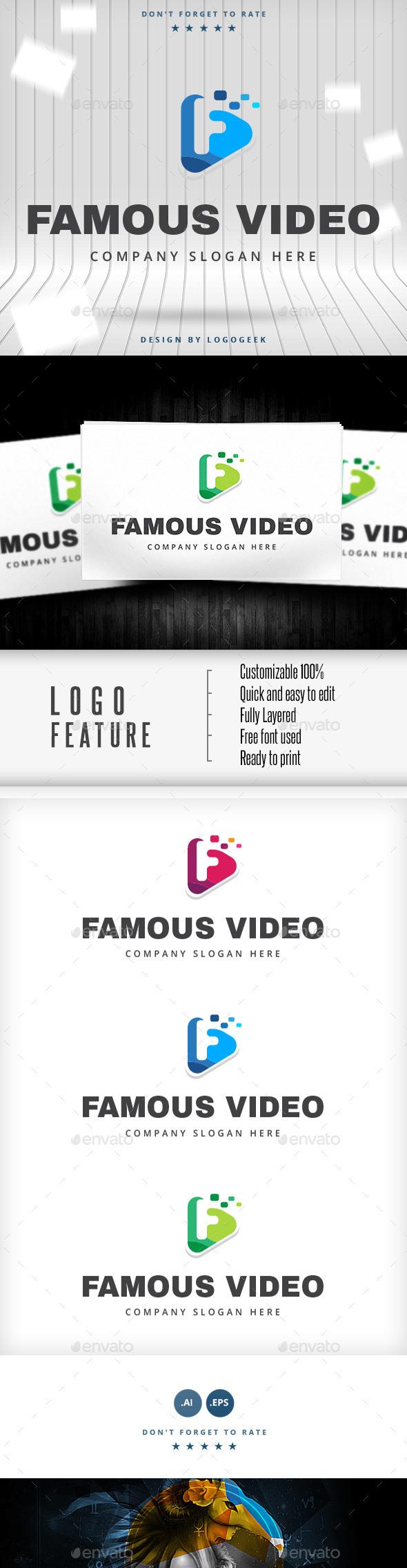 GraphicRiver Famous Video Logo 10487425