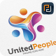 United People - Logo Template - GraphicRiver Item for Sale