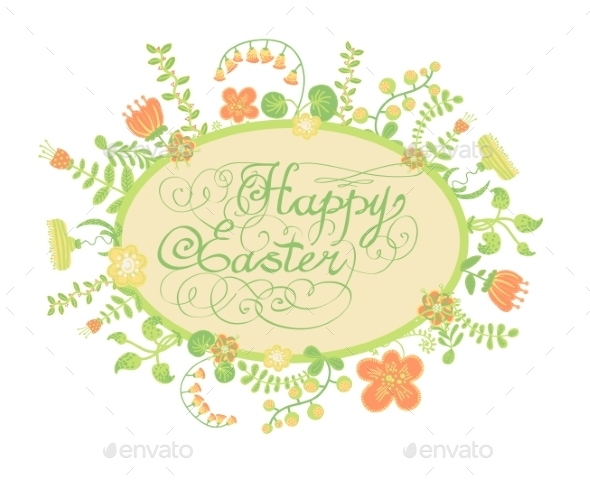 GraphicRiver Happy Easter 10487748