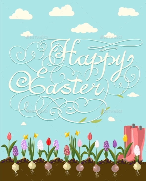 GraphicRiver Happy Easter 10487757