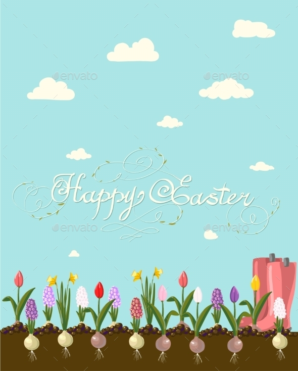 GraphicRiver Happy Easter 10487760