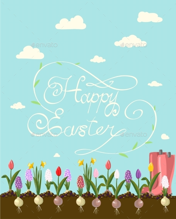 GraphicRiver Happy Easter 10487762