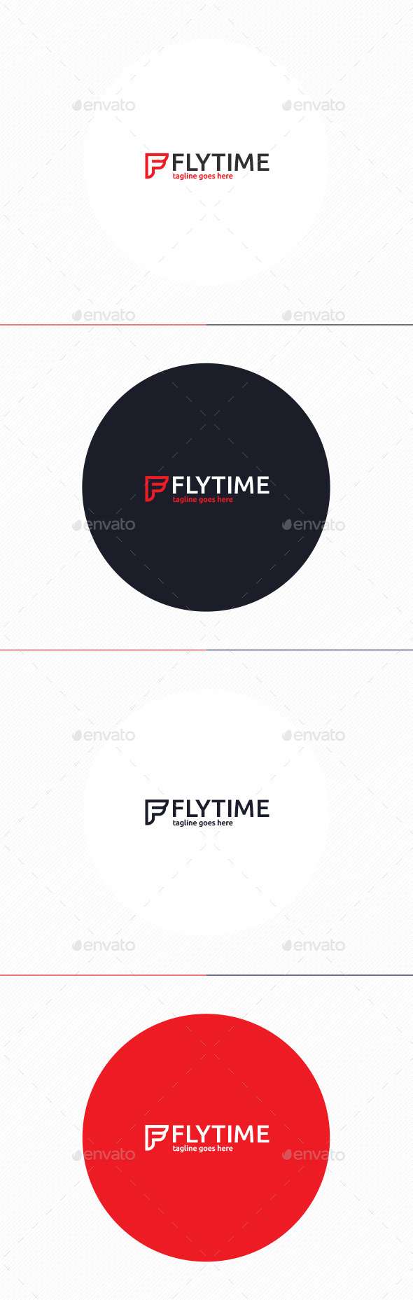 GraphicRiver Fly Time Logo Letter F 10487764