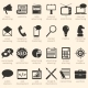 Vector Set of Advertising Icons
