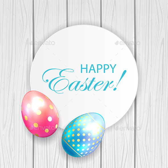 GraphicRiver Easter Card 10487948