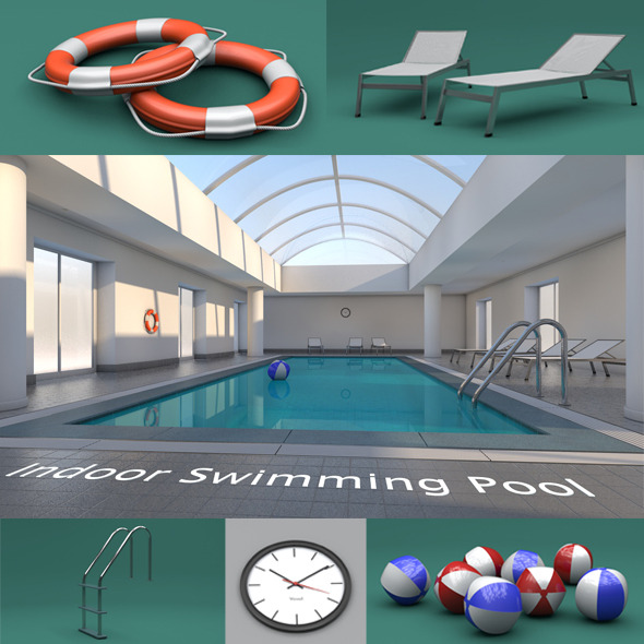 3DOcean Indoor Swimming Pool 10488025