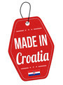 Made in Croatia  label or price tag - PhotoDune Item for Sale