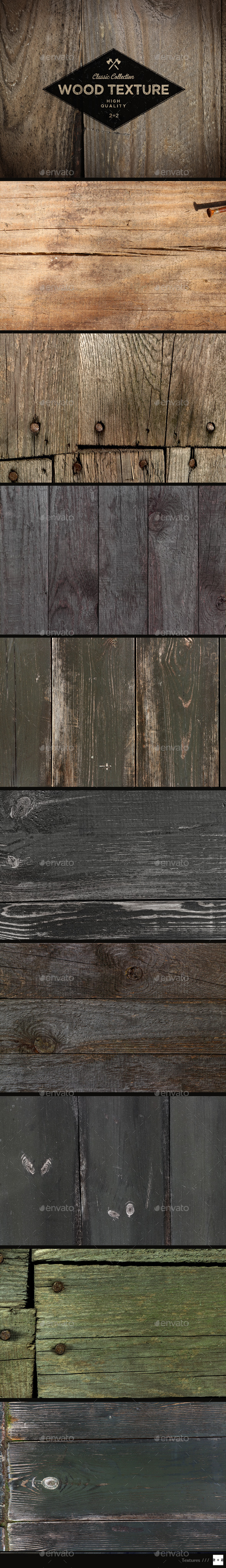 GraphicRiver 10 Old Wood Textures 10439246