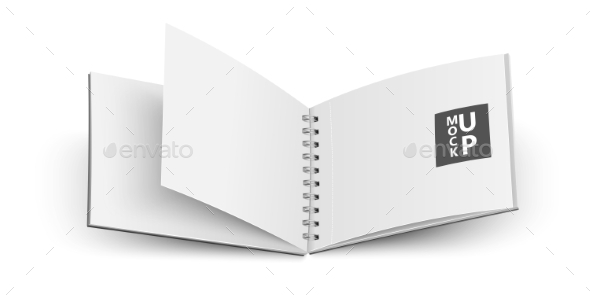 GraphicRiver Open Notebook 10489313
