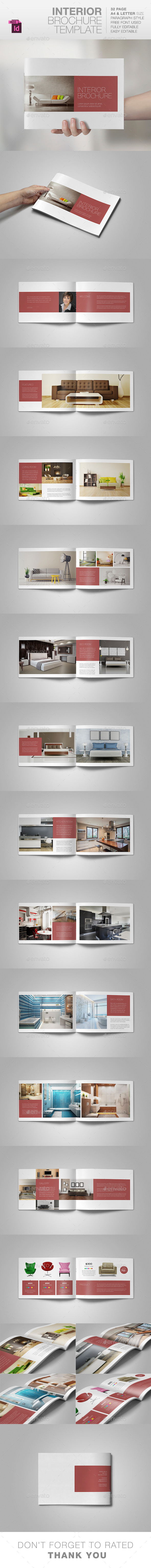 GraphicRiver Interior Brochure Template 10490080