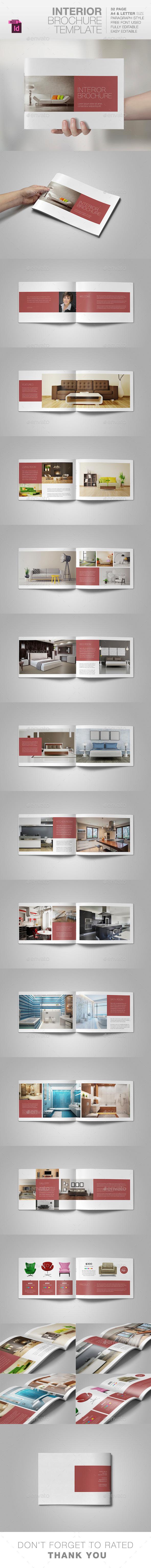 GraphicRiver Interior Brochure Template 10490080