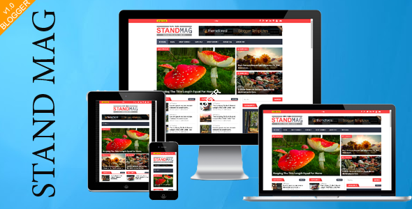 ThemeForest Stand Mag Responsive Blogger Magazine 10490647