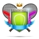 Label for Tennis Sport Competition - GraphicRiver Item for Sale