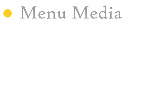 Menu Media o