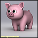 Cartoony Pig