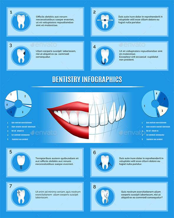 GraphicRiver Dentistry Infographics Template 10435586