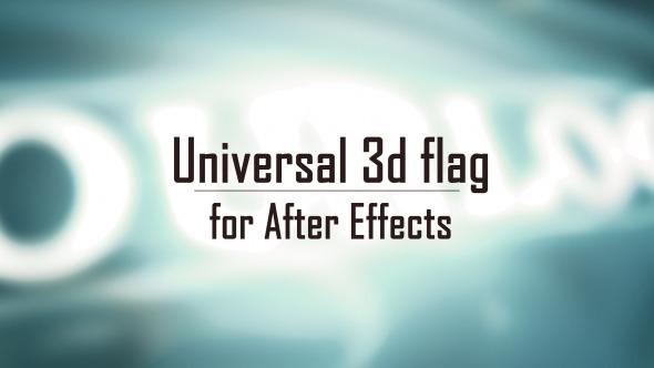 AE模板:终极五星红旗丝绸国家旗帜展示模板包