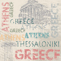 Typographic poster design with Greece - PhotoDune Item for Sale