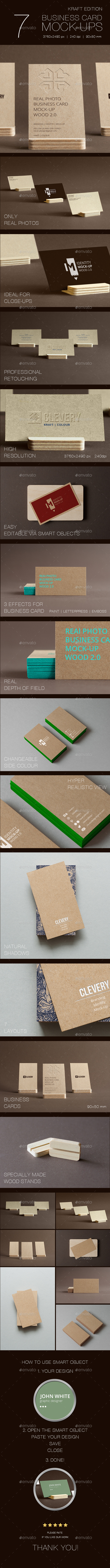GraphicRiver Branding Identity Business Card Mock-Up 10492486